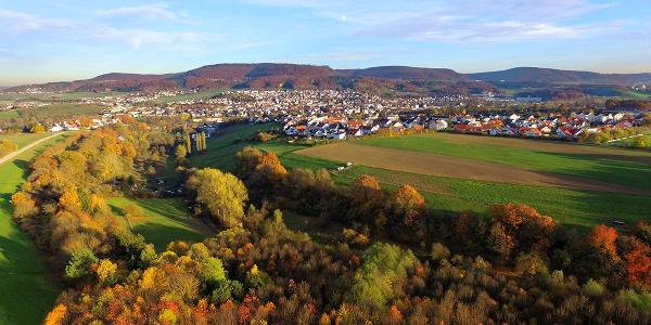 Blick auf den Braunenberg ©Stadt Aalen