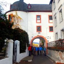Start am alten Zolltor in Leutesdorf