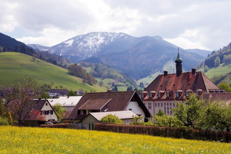 Hoch über'm Münstertal nach Staufen