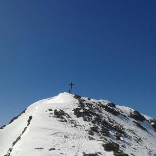 Zustieg zum Gipfel