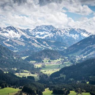 View from Reuterwanne, Bavaria