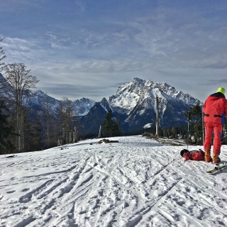 Götschen Blick Richtung Berchtesgaden