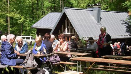 An der Hütte