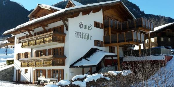 Haus Mühle Winterfoto 2017