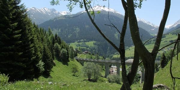 Viadukt in Bugnei