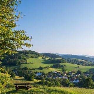 Panoramablick vom Sauerland-Höhenflug