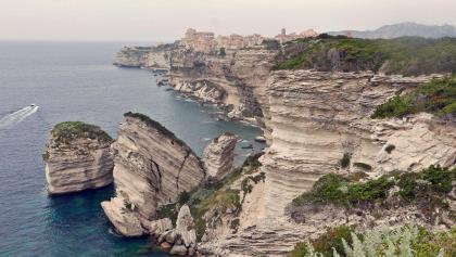 Die Felsenküste von Bonifacio