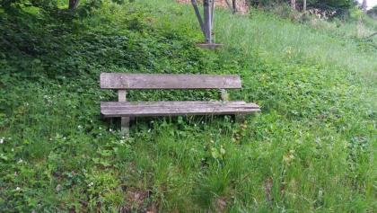 Rastplatzerl am Wanderweg Nr. 1 der Bärnbacher Naturfreunde