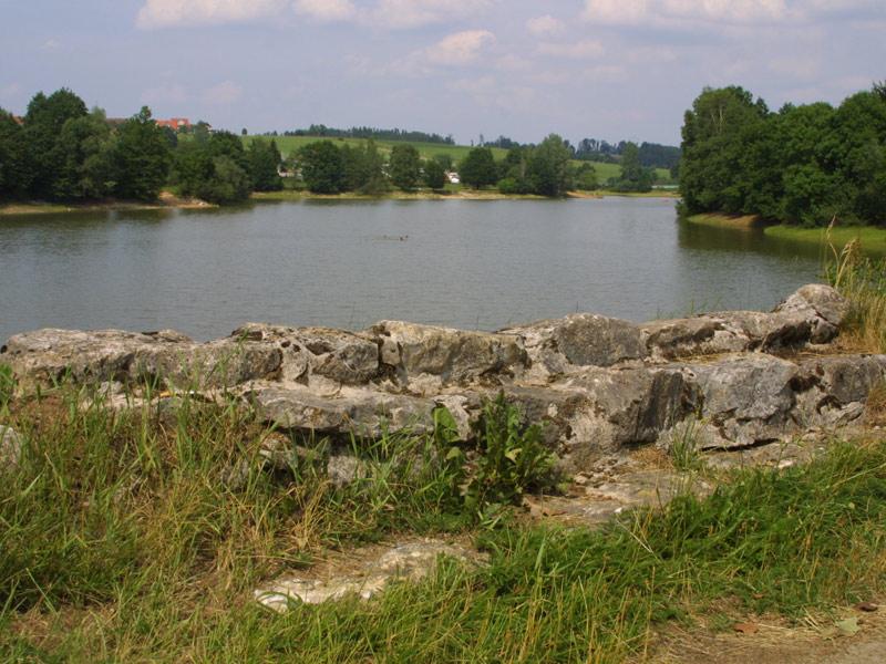 Sonnenbachsee in Ellwangen-Pfahlheim  - @ Autor: Beate Philipp  - © Quelle: Stadt Ellwangen