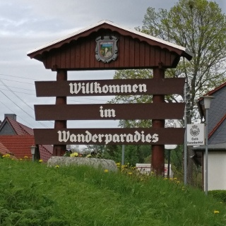 Begrüßung Ortseingang Trautenstein