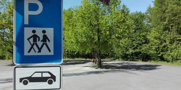 Wanderparkplatz im Teuoburger Wald