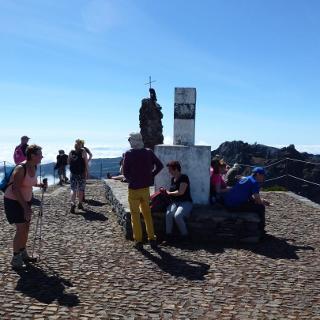 Pico Ruivo Gipfel
