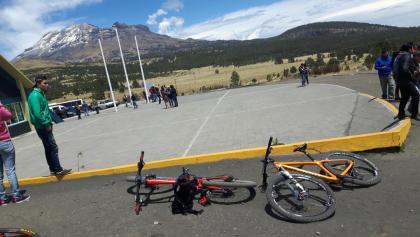 Paso de Cortez - Blick zum Popocatepetl