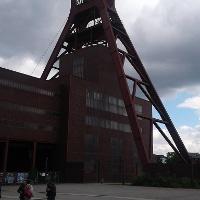 Förderturmm der Zeche Zollverein