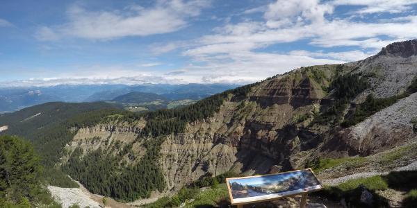 Panoramapunkt am Zirmersteig