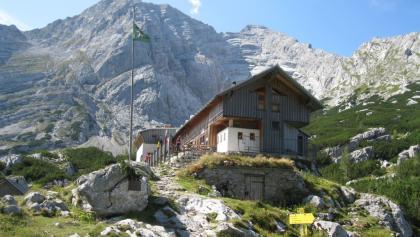 Hesshütte mit dem Hochtor  (11.09.2012)