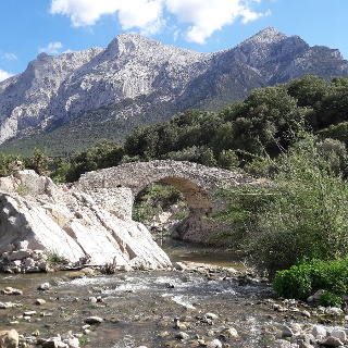 In der Supramonte Bergregion