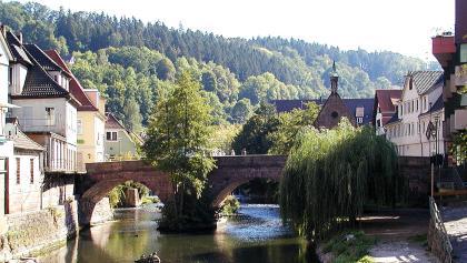Hermann Hesses Lieblingsort: Die Nikolausbrücke in Calw