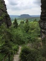 Foto Ausblick vom Nadelöhr-Aufstieg