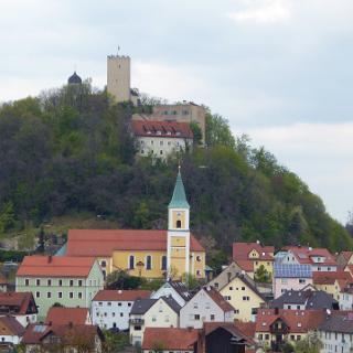 Markt Falkenstein mit Burg