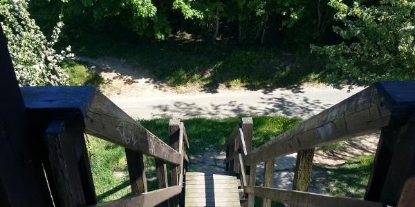 Aussichtsturm Sieben Seen Blick