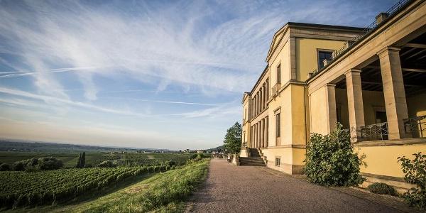 Außenansicht Schloss Villa Ludwigshöhe