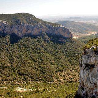 Blick vom Castell de Alaró