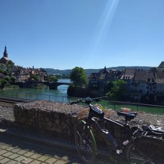Blick auf Laufenburg