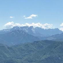 Blick vom Alpstein Richtung Gesäuse