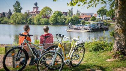 Fähre zwischen Ladenburg und Edingen - Neckarhausen