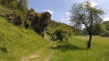 Rundwanderung bei Tüchersfeld in der Region Pottenstein