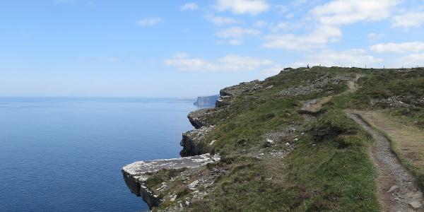 Het kustpad 'Cliffs of Moher'