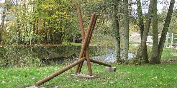 """Himmelsstürmer"" - Skulptur von Willi Arlt"