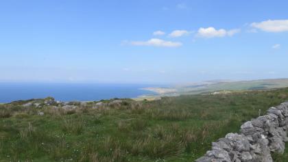 Herrliche Aussicht auf die Aran Islands