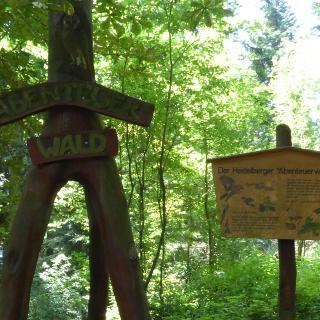 Kindererlebnispfad Abenteuerwald - Heidelberg