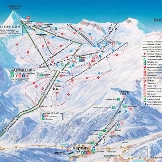 Winterpanorama Kitzsteinhorn