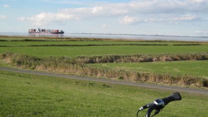 Weites Land zwischen Wischhafen und Balje