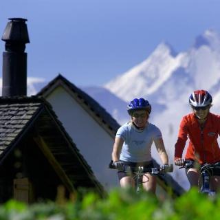 Cycling in Fieschertal