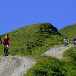 Mountain biking in Valais