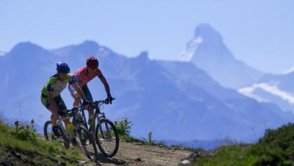 Mountain biking in Aletsch Arena
