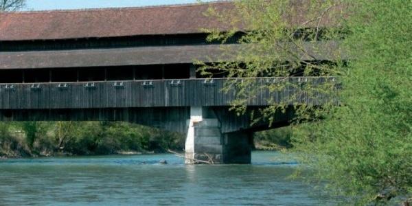 Holzbrücke Sins