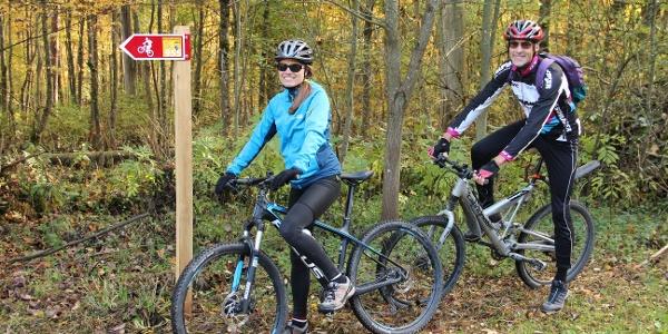 Unterwegs auf Tiersteinberg Bike