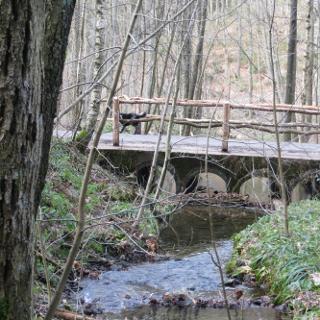 Endlich mal eine Brücke für die Überquerung von Wasser