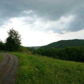 Blick in Richtung Kempenicher Höhen