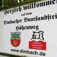 Start am Waldparkplatz vor Dimbach