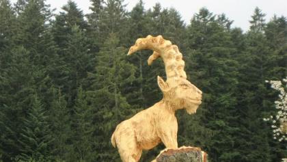 Der Steinbock wacht über dem Kirnerhof