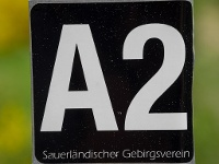Wanderzeichen A2