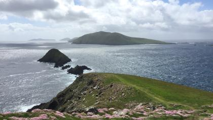 Views to the Blasket Islands