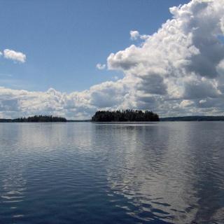 Åsnen-See