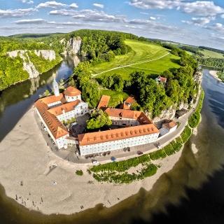 Kloster Weltenburg am Donaudurchbruch, Altmühltal